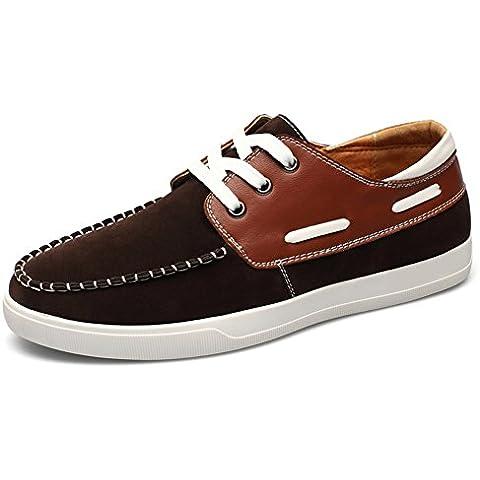 De los hombres casuales zapatos de moda/ el estudiante movimiento transpirable zapato/Corte de encaje inglés bajo