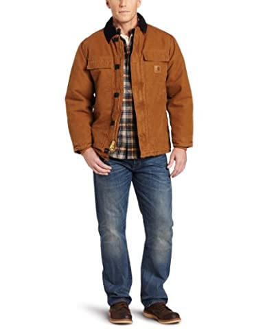 Carhartt .C26.211.S007 Sandstone Traditional Coat, X-Large,