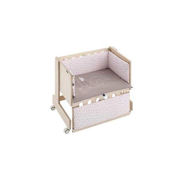 Bimbi Mini Cot Bimbi Casual baby bedroom. Cot bedroom. Natural mini bedspread 4
