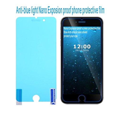 Evergreen Ultradünne Explosion Proof Nano Handy Schutzfolie Anti Blau Licht Displayschutzfolie für Handy Guard Schock Displayschutzfolie -
