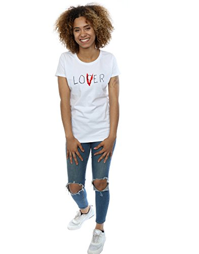 It Damen Loser Lover T-Shirt Weiß