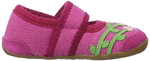 Haflinger Lilli, chaussons d'intérieur fille Pink (kardinal)
