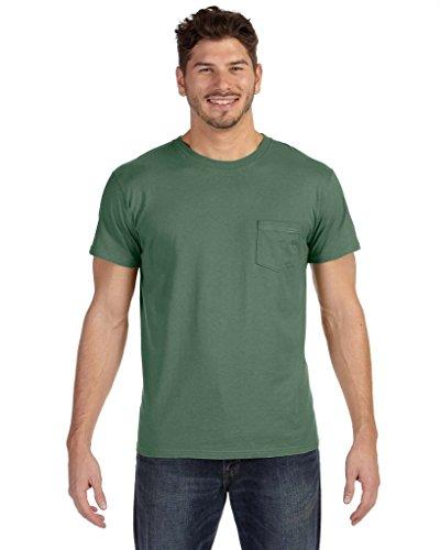 Hanes Herren Asymmetrischer T-Shirt grün - Grün