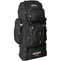 Andes 120L Hiker Backpack Extra Large Hiking/Camping Luggage Rucksack