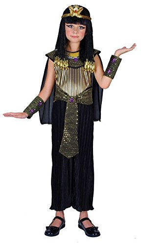 QUEEN CLEOPATRA EGYPTIAN PRINCESS GIRLS COSTUME FANCY DRESS UP PARTY (11-13)