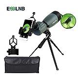 ESSLNB Telescopio Terrestre 25-75X70 Impermeable Telescopios Terrestres con Trípode Teléfono...
