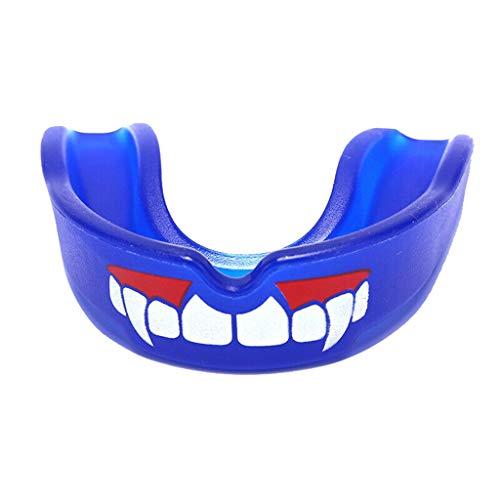 Myspace 2019 Neueste Dekoration für Halloween Mundschutz Zahnschutz Boxen Fußball Basketball Zähne Protec (69 Fußball Kostüm)