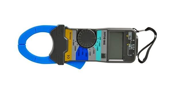 SW-Stahl 32222L Zangen Multimeter digital mit Pr/üfkabel