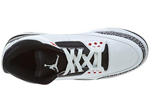 Nike, Herren Baseballschuhe White