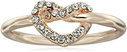 t-tahari-pave-heart-rose-gold-ring-size-7