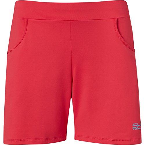 Sportkind Mädchen & Damen Tennis / Fitness / Bermuda Shorts, pfirsich, Gr. L
