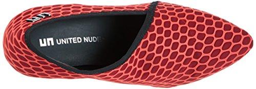 United Nude - Fold Lite Hi, Scarpe col tacco Donna Rot (red Silicon)
