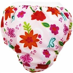 Kushies Kushies Potty Taffeta Training Pants - Small - Pink Sunflowers