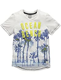 Bench Palm Ocean Tee, T-Shirt Garçon