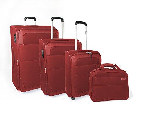 Roncato Trend Set di Valigie, 72 cm, 185 litri, Rosso
