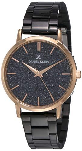 Daniel Klein Analog Black Dial Women's Watch-DK11800-6