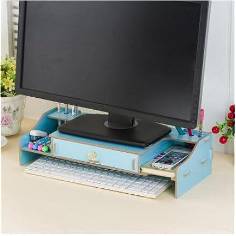 ZR cornice del display Maggiore. Staffa Base desktop di storage cornice di finitura. Ripiani , e