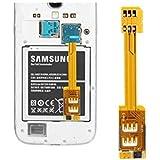 Tarjeta adaptadora de doble tarjeta SIM para Samsung Galaxy
