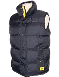 Caterpillar Homme Vestes de sport Mens Gilet Padded Bodywarmer Pinnacle Stormblocker 5 Colours M L XL XXL 3XL 4XL 5XL NEW BLACK, NAVY, RED, SEAPORT BLUE, ARMY GREEN NEW