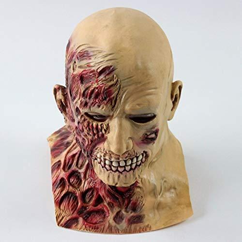 baoqsure Halloween Beängstigend Maske Vampir Blutsauger Monster Latex Teufel Masken Maskerade Partei Silikon Horror Zombie Terror Parasitären