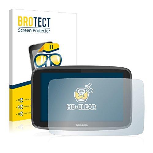 BROTECT Protection Ecran pour TomTom GO 6200 [2 Pièces] - HD Ultra-Clair, Sans Bulles, Anti-Trace
