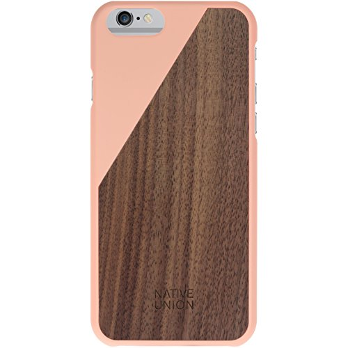 Union Slip (Native Union Clic Holz Cover für Apple iPhone 6, Blossom/Walnuss)