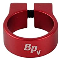 """Single Luxury Tube Clamp LTC5 For Tube OD 1/2"""" (Red)"""