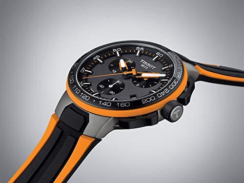 Tissot Herren-Uhren Analog Quarz One Size Kautschuk 87487563