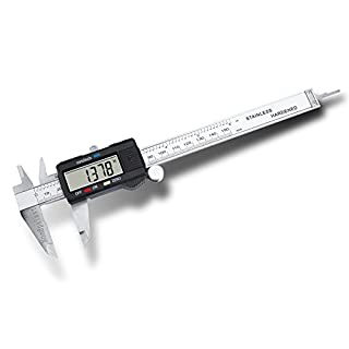 LCD Digital Caliper Rule 150 mm with Inch Measure and Case