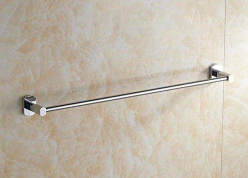 Dual-fuel-single (Körperpflege,Single rod Sucastle Handtuchhalter Handtuchhalter Badezimmer Anhänger aus Edelstahl Handtuchhalter)