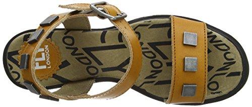 Fly London - Cent, Con cinturino alla caviglia Donna Marrone (Braun (Brandy 002))