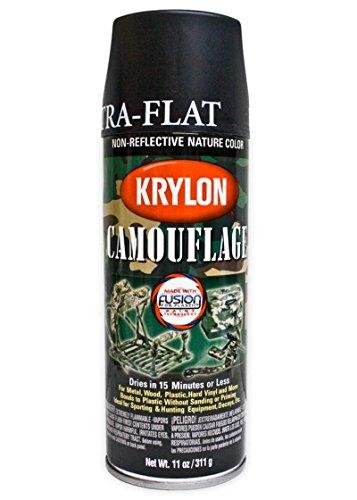 SPRAY KRYLON COLOR NEGRO MATE (BLACK ULTRA-FLAT)