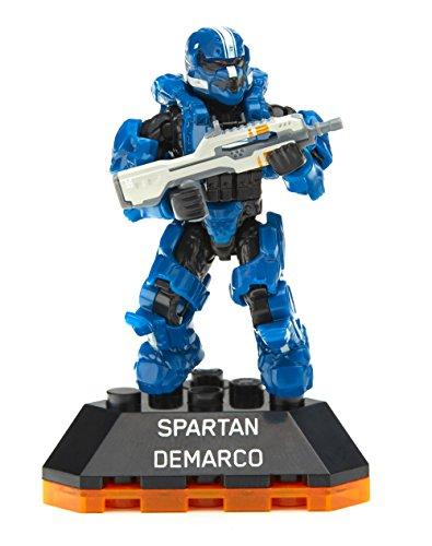 Mega Bloks Halo Heroes Series 2 Spartan DeMarco Figure #3