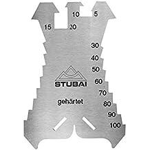 Stubai 278601 - Patrones de chapista dentados reforzados (1,3 mm, 140 x 100 mm)