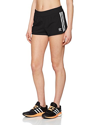 adidas Damen Regular Shorts, Black, 40 (40 Frauen Casual Ab Shorts)