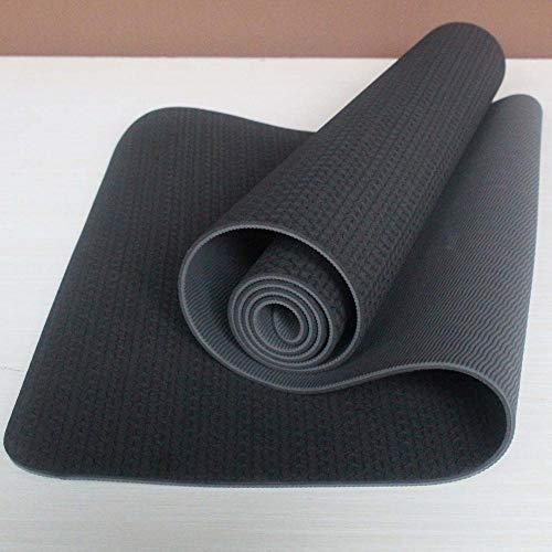 YOOMAT 183 cm * 61 cm * 6mm Yoga-Matte Neue TPE Natürliche Trainingsmatte Gym Rutschfeste Trainings-Yoga-Matte, HB093, Gold