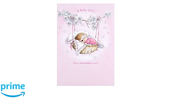 Felicitation naissance fille anglais