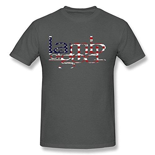 DONVAN Men's Lamb Of God Art Logo T-shirt
