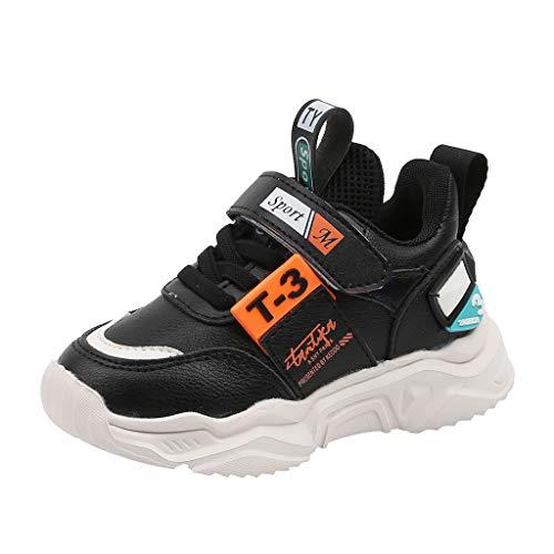 LILIGOD Kinder Leichte Outdoor-Sportschuhe Kinderschuhe Fashion Freizeitschuhe Jungen und Mädchen New Klettverschluss Sneaker Bequeme rutschfeste Schuhe Weicher Boden Turnschuhe -