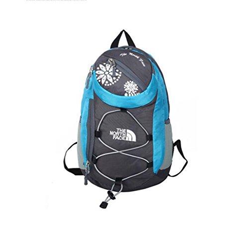 Wmshpeds La moda casual Borsa a Tracolla Sport piccolo sacchetto di alpinismo Passeggiate all'aperto nello zaino borsa da viaggio B