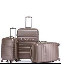 """Lot de 3 valises 8801/3 """"Little Marcel"""" ABS"""