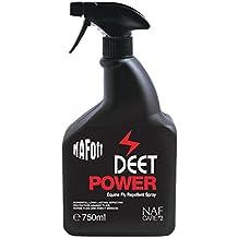 Spray repelente de moscas (de alimentación de NAF Off–Repelente de insectos, color blanco, 750ml