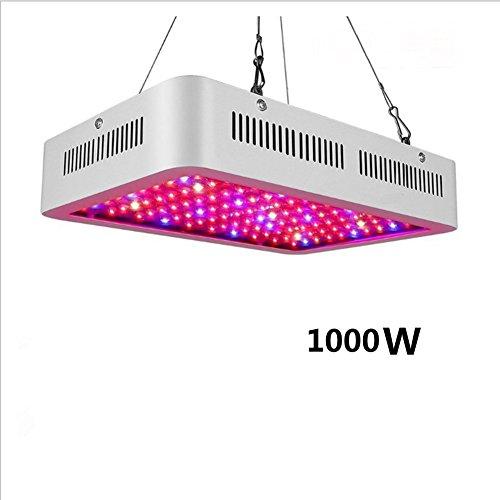 TZ TED LED Horticole Lampe 1000W Lampe Croissance Eclairage Interieur Grow Light Plante Verte Chambre À Double Chips Bleu pour Hydroponique Grow Serre Plants Germination
