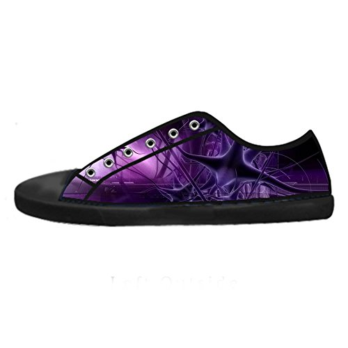 Custom 3D Format Women's Canvas Shoes Schuhe Lace-Up High-Top Footwear Sneakers