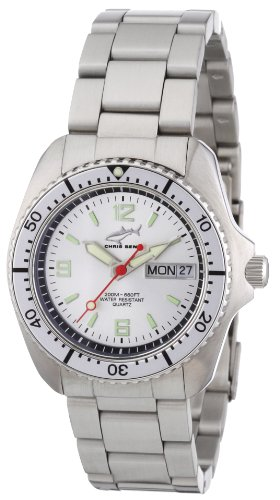 Chris Benz Men's Quartz Watch CBM.SI.MB.SI with Metal Strap