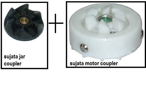 Jar Coupler and Motor Coupler for Sujata Juicer Mixer Grinder (White)