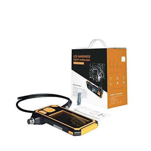 LouiseEvel215 HD 8mm 1080P 4,3 Zoll Endoskop Auto Inspektionskamera Handheld 1/3/5 / 10M Endoskop Lithium Batterie Snake Hard Kamera