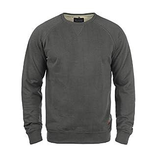 BLEND Alex 20701680ME Sweatshirt, Größe:L;Farbe:Pewter Mix (70817)