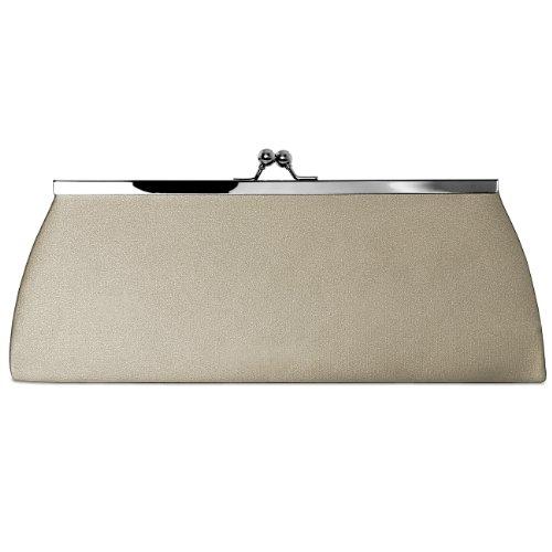 CASPAR Taschen & Accessoires, Poschette giorno donna beige