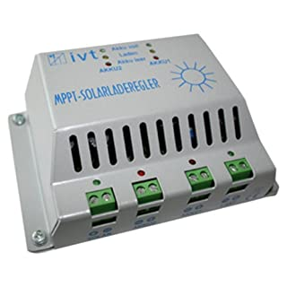 IVT 200028 MPPT-Solarladeregler 30A für höhere Energieausbeute Ladegerät für Solarbatterien